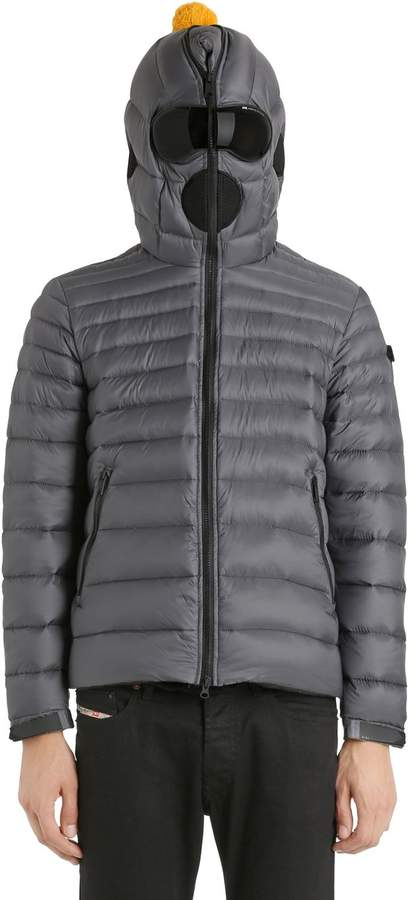 AI Riders On The Storm Nylon Micro Ripstop Down Jacket