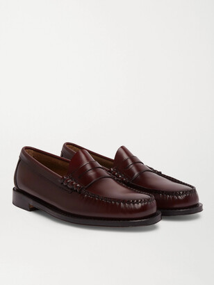 G.H. Bass & Co. Weejun Heritage Larson Suede Penny Loafers