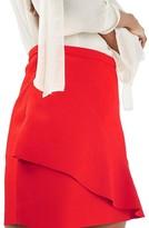 Topshop Women's Wave Miniskirt