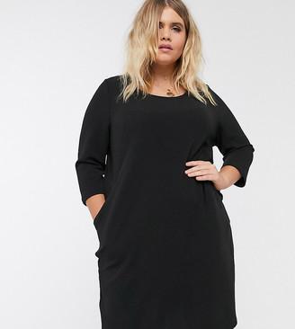 Junarose swing dress-Black
