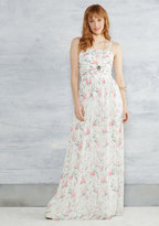 Of Grace and Grandeur Maxi Dress in White in 0
