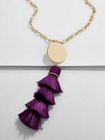 BaubleBar Tahira Tassel Pendant Necklace