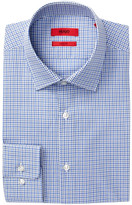 HUGO BOSS Mabel Plaid Trim Fit Dress Shirt