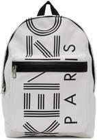 Kenzo Off-White Sport Logo Backpack