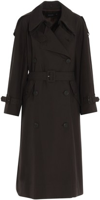 Low Classic Belted Oversize Trench Coat