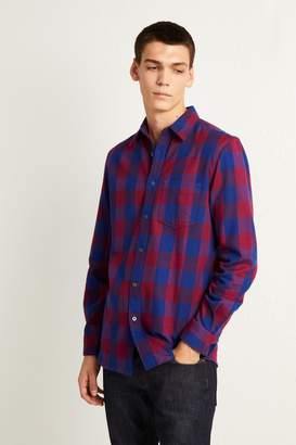 French Connenction Kahama Flannel Check Shirt