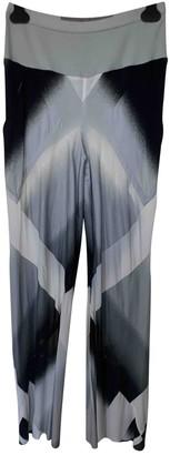 Rick Owens Multicolour Cotton Trousers