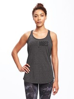 Old Navy Semi-Fitted Go-Dry Racerback Tank for Women