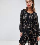 Mama Licious Mama.licious Mamalicious Nursing Bird Print Woven Dress