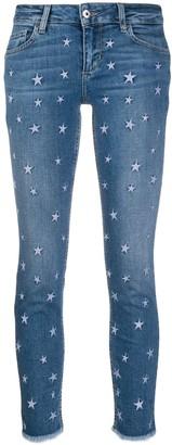 Liu Jo Star Embroidered Jeans