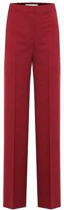 Victoria Victoria Beckham High-rise twill straight pants