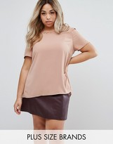 Junarose Short Sleeve Blouse With Button Up Back