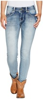 Rock and Roll Cowgirl Mid-Rise Skinny in Light Vintage W1S2333 Women's Jeans