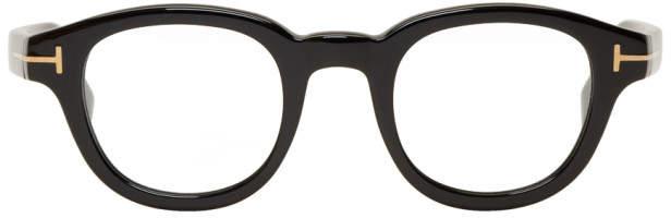 Tom Ford Black Round Glasses