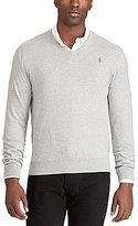 Polo Ralph Lauren Big & Tall Cotton V-Neck Sweater