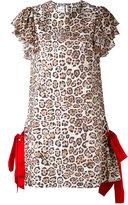 Brognano - animal print dress - women - Polyester - 42