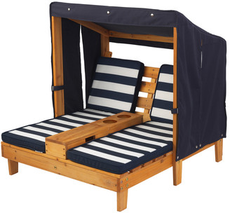 Kid Kraft Double Chaise Lounge With Cupholder