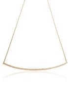 Lumiere Large Diamond Bar Necklace