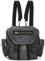 Alexander Wang Black & White Mini Marti Backpack