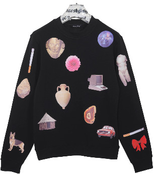 "starstyling - ""Mankind"" Sweater Black - Size XS - Black"