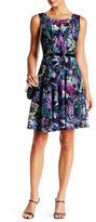 Chetta B Sleeveless Floral Dress