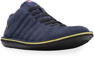 Camper Men's Beetle Winterproof Suede Sneakers