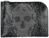 Alexander McQueen star studded skull clutch - men - Calf Leather/Leather/Metal (Other) - One Size