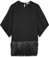 Antonio Berardi Embellished Crepe Top - Black
