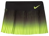 Nike Black and Volt Victory Skirt