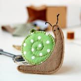 Your Own Clara and Macy Make Snail Keyring Craft Kit