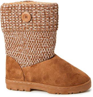 Gold Toe Goldtoe GoldToe Women's Casual boots COG - Cognac Button-Accent Ankle Boot - Women