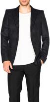 Alexander McQueen Pinstripe Blazer