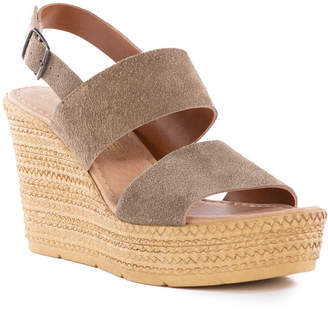 Seychelles Downtime Suede Wedge Sandal