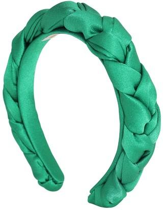 Lvr Exclusive Silk Braided Headband