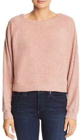 Band of Gypsies Corinna Ribbed Textured Sweater