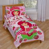 Disney Baby, Childrens, Toddler 4 Piece Bedding Set (Strawberry Shortcake)