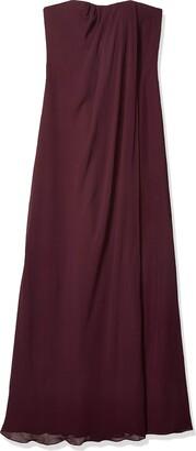 Jenny Yoo Women's Racquel Strapless Chiffon Gown