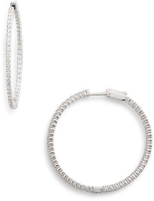 Bony Levy Large Inside Out Diamond Earrings