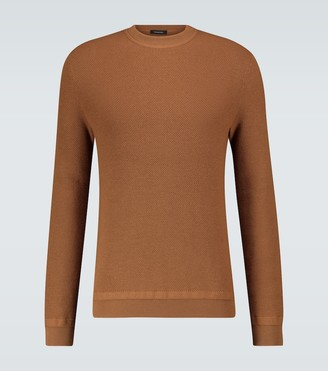 Ermenegildo Zegna Wool and cashmere sweater
