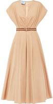 Prada belted A-line dress