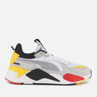 Puma Men's RS-X Toys Trainers White Black/Cyber Yellow