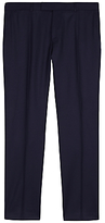 Jaeger Super 120s Wool Regular Fit Suit Trousers, Navy