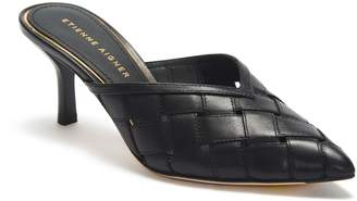 Etienne Aigner Bedford Woven Pointed Toe Mule