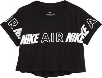 Nike Sportswear Kids' Crop Graphic Tee
