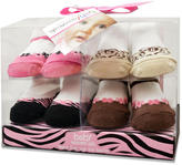 Baby Essentials Girls 4 Pack Sock Set - Fashion