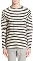 Norse Projects Men's 'Godtfred' Stripe Long Sleeve T-Shirt