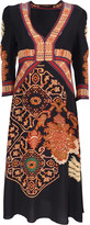 Etro midi-cut dress