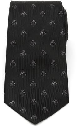 Cufflinks Inc. Men's The Mandalorian Mythosaur Skull Silk Tie