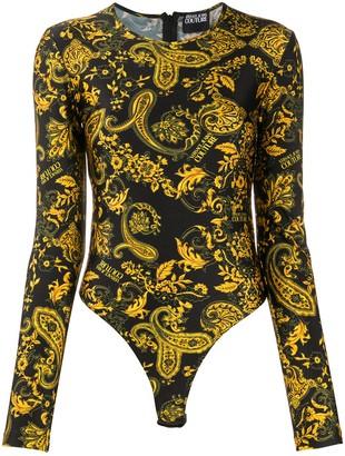 Versace baroque print T-shirt