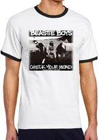 NC2FC Beastie Boys Check Your Head Round Neck T-shirt For Men's M Designer Tshirt
